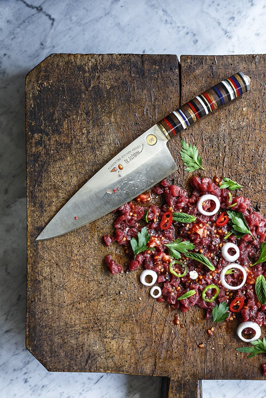 florentine kitchen knives photo dan perez styling nurit kariv